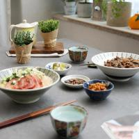 일본식기 전통적인 일본라면기 2종