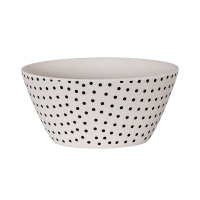 [Blooming]Bamboo Bowl with Black Dots밤부볼47402923