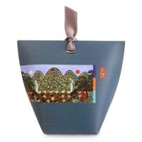 [인디고샵] 감색 전통민화 보텀기프트 상자 중 (5set)