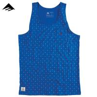 [EMERICA] PAISLEY PATTERN TANK TOP (Royal)