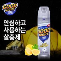 [한국DBK]굿나잇 에어로졸/파리모기살충제_레몬향 400ml