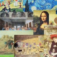 머리가 똑똑해지는 12가지 명화 퍼즐