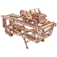 [3D퍼즐마을][우드트릭] WT018 자동차 트레일러