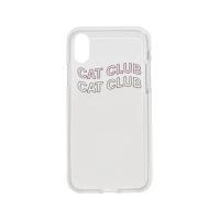 Cat Club iPhone Case Pink