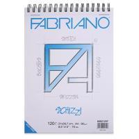 파브리아노 스케치북[스프링형](A5)-90g