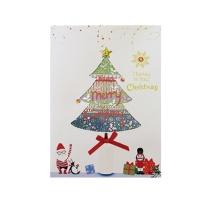 크리스마스카드/성탄절/트리/산타 x-mas BIG 트리이야기 card (FS201-5)