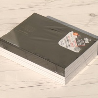 튼튼한 뒷판부착 A4 70매×10권/팩 프리미엄 그리드 패드노트..나카바야시 Think Note-상철(방안) Hd-5s
