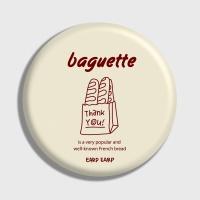 [어프어프] 손거울 Baguette-Ivory