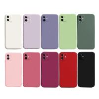 아이폰 XR XSMAX XS X 단색 컬러 젤리 휴대폰 케이스