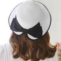 플로피 햇 리본 모자