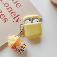 에어팟 1/2세대 캐릭터 입체 키링케이스 144 치즈팝콘