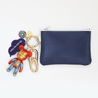 아이언맨 card & coin wallet (navy)
