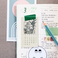 2021 슬리핑피스 카드달력