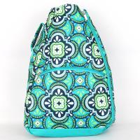 [ALL FOR COLOR]TENNIS BACKPACK - PACIFIC SPLASH
