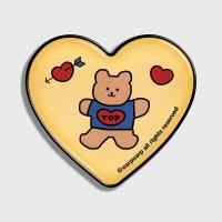 Bear heart-creamyellow(hearttoktok)
