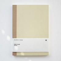 백상점 FREE YEAR DIARY_beige 다이어리