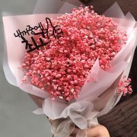 프리저브드 안개 꽃다발