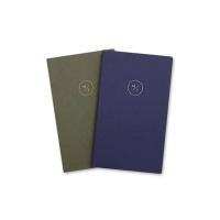 18 HALF DIARY set_navy-blue gray (날짜형)
