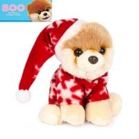 월드넘버원 빨강파자마 부 강아지인형-4060299