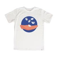 [특] 공기놀이 반팔 - 화이트