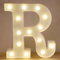 LED 앵두전구 조명등 알파벳 R