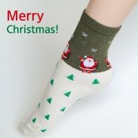 [1+1+1] 화이트 크리스마스 양말 3종세트