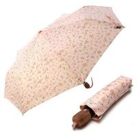3단 자동 우산(양산겸용) - 소녀에게 (핑크)