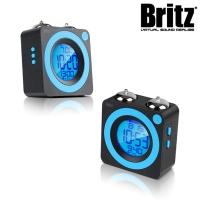 브리츠 클래식 트윈벨 LED 알람 시계 BZ-CL665