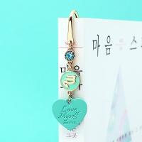 [선물포장] 탄생석 + 별자리 북마크 민트