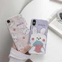 아이폰 11 pro max xr xs 8 7 딸기 토끼 젤리케이스