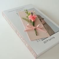 카네이션 프리저브드꽃상품권봉투_핑크