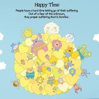 Kids D.I.Y Sticker_누꼬뺑 사랑이 넘치는 구름