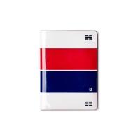 No Skimming Passport Wallet - 국기, 패턴 시리즈