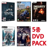 PC 어새신크리드 로그 5종초특가 9900원 (DVD/새제품)