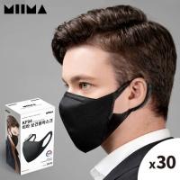 [미마] KF94 보건용 마스크 검정/M/1BOX(30개입)