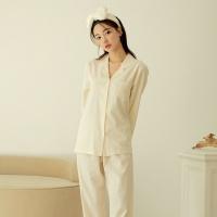[쿠비카]오가닉코튼 카라넥 투피스 여성잠옷 W711