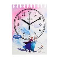 디즈니 무소음 D845 노글라스 겨울왕국 캐릭터벽시계