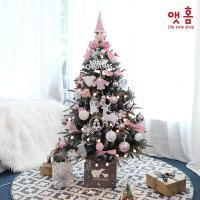 앳홈 로즈핑크부쉬 크리스마스 트리 130cm