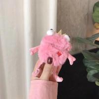 에어팟 1/2 개구리 캐릭터 인형 털 케이스 299 핑크