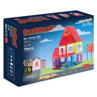 맥포머스 호환 76pcs 맥킨더 자석블럭 클릭블럭 - 마이 하우스 세트