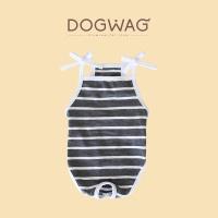 [도그웨그 DOGWAG] 스트라이프 민소매 올인원