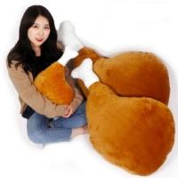[갓샵 충격! 초대형 닭다리쿠션 2종] 110CM 90CM 빅사이즈 커다란 치킨 베개