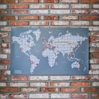 줄라이닷츠 세계지도 [M] - Julydots Worldmap [M]