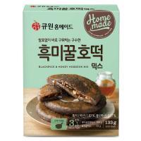 큐원 소용량 흑미꿀호떡믹스 133g (프라이팬용)