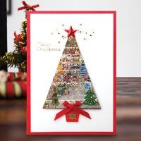 크리스마스카드/성탄절/트리/산타 크리스마스카드 츄리 FS1025-2