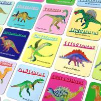공룡 메모리게임 / 3세 이상, 1인이상, 18쌍, 휴대용