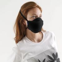 [바쿠백] BAGGU 패션 마스크 Black