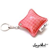 [리스캣] 스와로우 열쇠고리-[핑크]