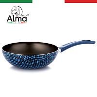이태리 알마(Alma) optic 궁중팬 24cm(블루)