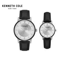 케네스콜 커플 가죽시계 KC50179001 공식수입원 정품